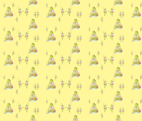 Dancing Frogs fabric by aftermyart on Spoonflower - custom fabric