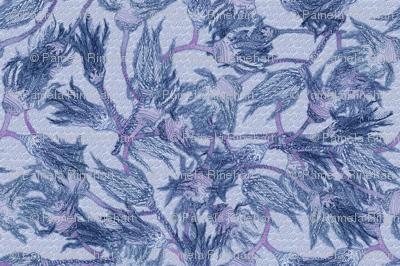 Crinoids - Blue