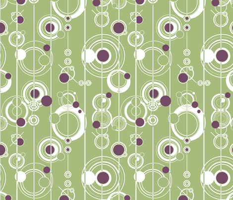 Crop Circles fabric by annelize on Spoonflower - custom fabric