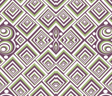marzlene_geometric_shapes fabric by marzlene'z_eye_candy on Spoonflower - custom fabric