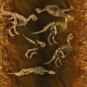 T-Rex Fossils, S