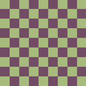 Pistachio and Grape Checkerboard