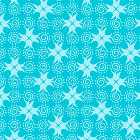 Doodle Cross - Light Blue