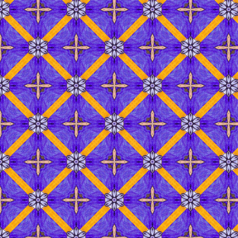 Hariha's Crosses fabric by siya on Spoonflower - custom fabric
