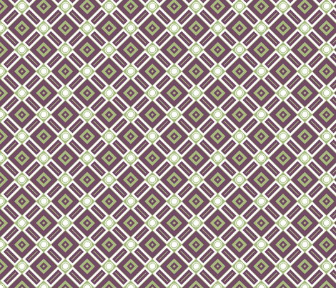 Dark Geometry fabric by wombatgirl on Spoonflower - custom fabric