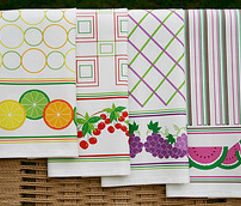 Summer Fruit Kitchen Towels