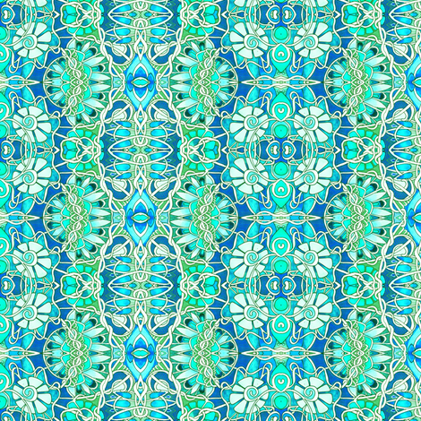 I Can't Help it; It's in My DNA fabric by edsel2084 on Spoonflower - custom fabric