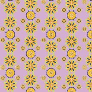 Chrysanthemumwheel Lilac