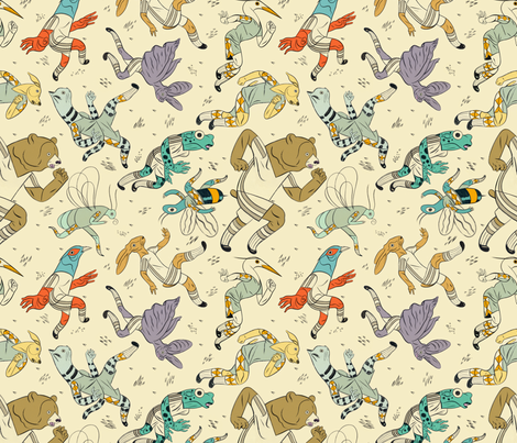 Team Players fabric by chad_grohman on Spoonflower - custom fabric