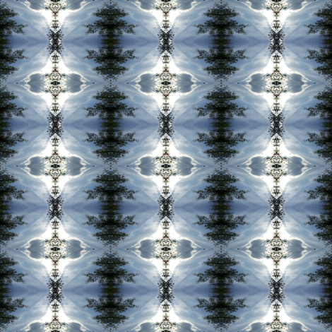 Laced Sky fabric by jmsiame on Spoonflower - custom fabric