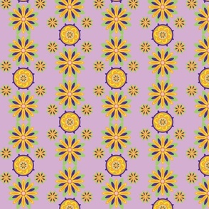 Chrysanthemumwheel Lilac II