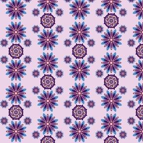Chrysanthemumwheel Blue