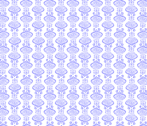 Hallmarks - Flow Blue fabric by glimmericks on Spoonflower - custom fabric