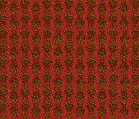 Hallmarks - To the Manor Born fabric by glimmericks on Spoonflower - custom fabric