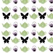 Teapots and Flutterbies