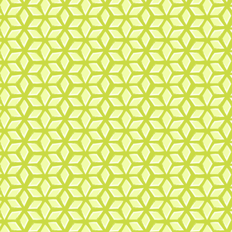 lattice - lime fabric by fox&lark on Spoonflower - custom fabric