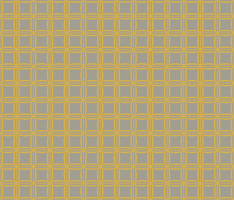 Extinction in Linen Woven Grid Small