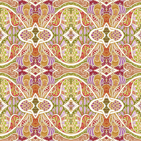 Paisley Romance fabric by edsel2084 on Spoonflower - custom fabric