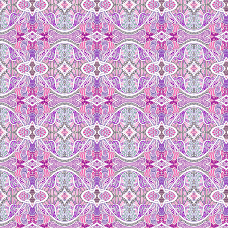 Paisley is my Favorite Drug (small scale, pastels) fabric by edsel2084 on Spoonflower - custom fabric