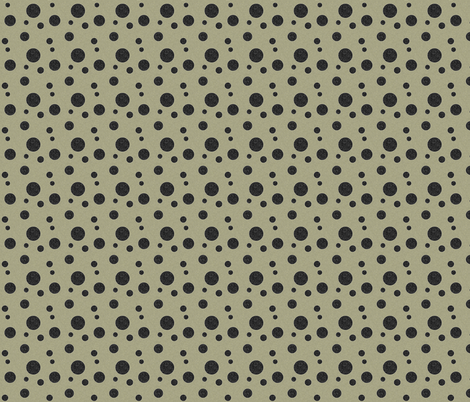 Extinction in Linen Polka Small fabric by glanoramay on Spoonflower - custom fabric