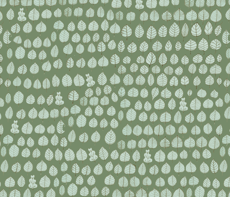 Sometimes an Oak... fabric by exm on Spoonflower - custom fabric
