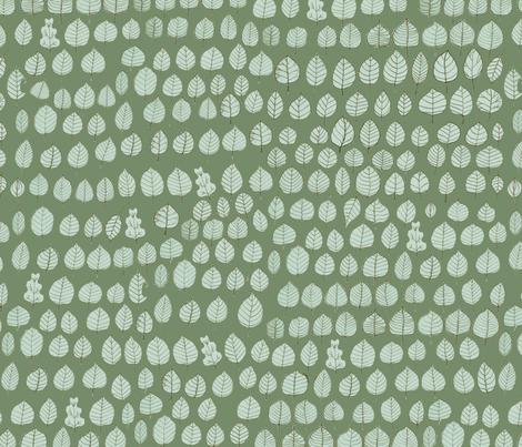 Sometimes an Oak... fabric by alessandra_spada on Spoonflower - custom fabric