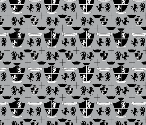 Miller Family Crest fabric by brandymiller on Spoonflower - custom fabric