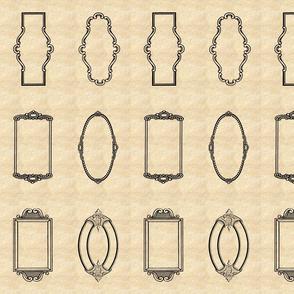 Signature Frames Parchment