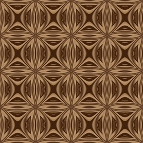 Intricate Brown Lattice © Gingezel™ 2012