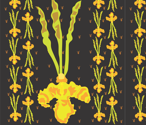 amazing orchid fabric by arnie on Spoonflower - custom fabric