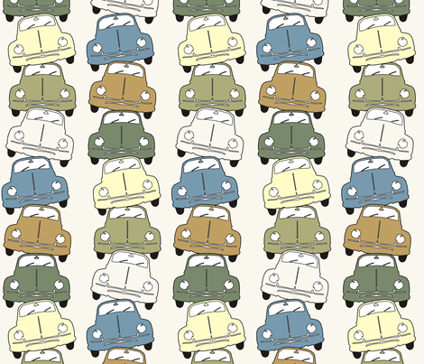 Balancing Beetles fabric by dogsndubs on Spoonflower - custom fabric