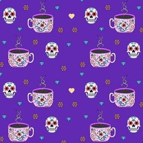 Sugarskull Teacups