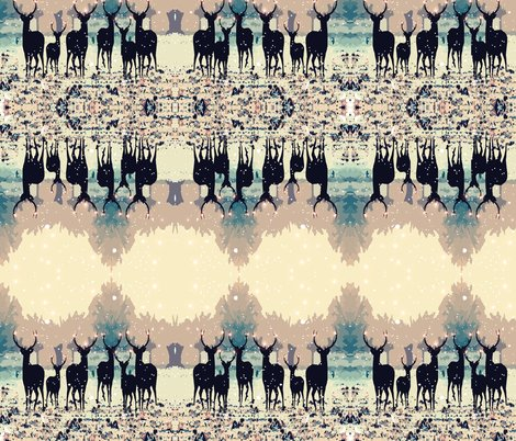 Rdeer_in_the_snowy_forest_spoonflower_shop_preview