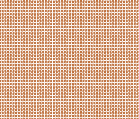 fireside orange knit fabric by creative_merritt on Spoonflower - custom fabric