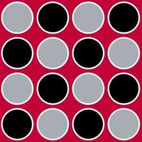 circles scarlet