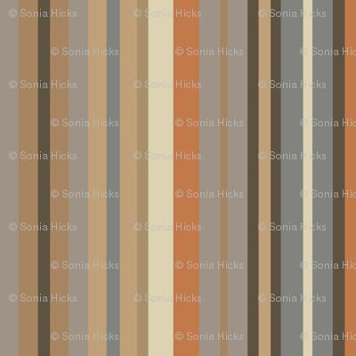 Stripes in fireside