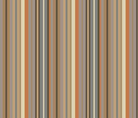 Stripes in fireside fabric by creative_merritt on Spoonflower - custom fabric