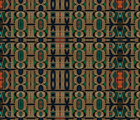 Celtic bravery plaid fabric by wren_leyland on Spoonflower - custom fabric