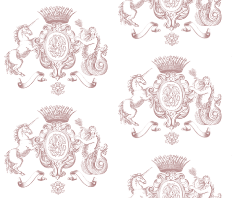 Royal Treatment fabric by rebeccaurbanek on Spoonflower - custom fabric