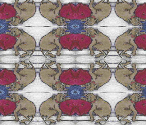 100% silk_SD1-D-ed fabric by cfishdesign on Spoonflower - custom fabric