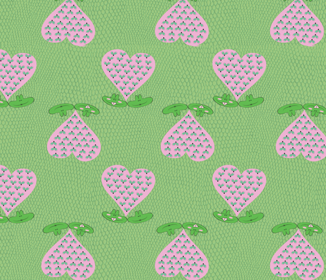 froglovin fabric by ksimmonds on Spoonflower - custom fabric