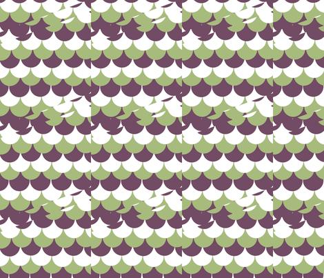 A Scallop Shift fabric by haleystudio on Spoonflower - custom fabric