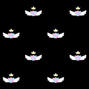 Black Cute Crest