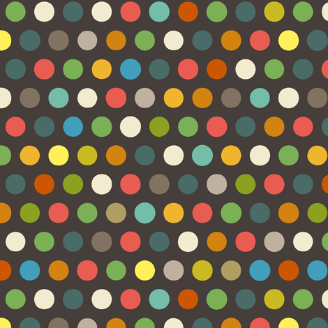 chocca boy number spot fabric by scrummy on Spoonflower - custom fabric