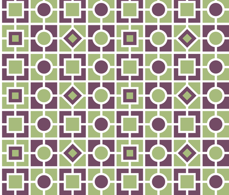Checkerboard Twist fabric by shelleymade on Spoonflower - custom fabric