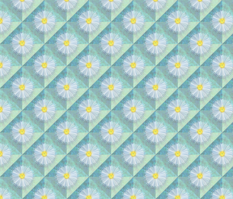 diagonal_diaphanous_daisies fabric by glimmericks on Spoonflower - custom fabric
