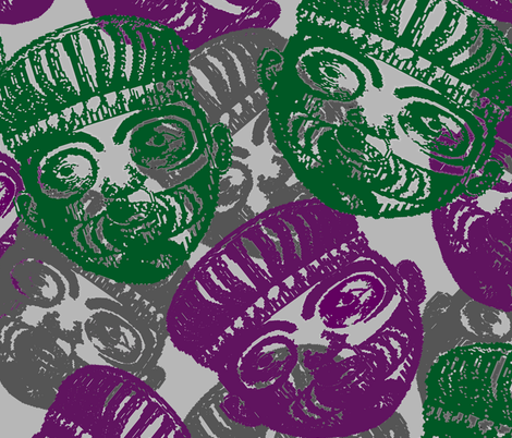 mask fabric by kshitija on Spoonflower - custom fabric