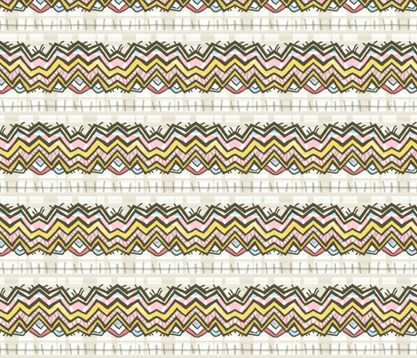 Mona & Blackbird fabric by lisabarbero on Spoonflower - custom fabric