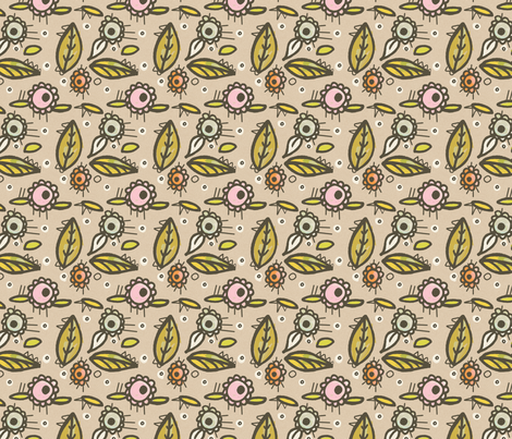 Afternoon Delight fabric by lisabarbero on Spoonflower - custom fabric