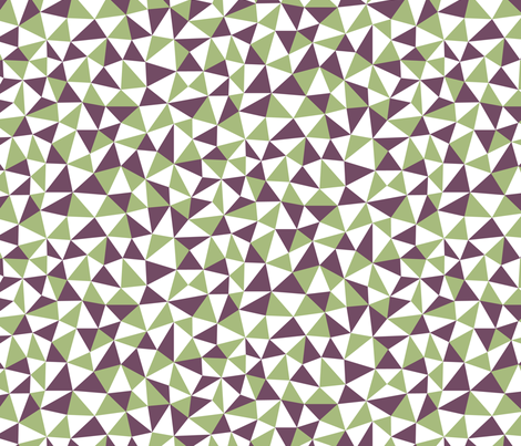 Triangles fabric by fattcheese on Spoonflower - custom fabric